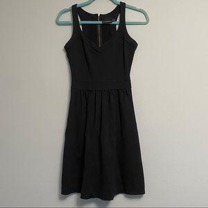 Black Cynthia Rowley Cocktail Dress with Pockets